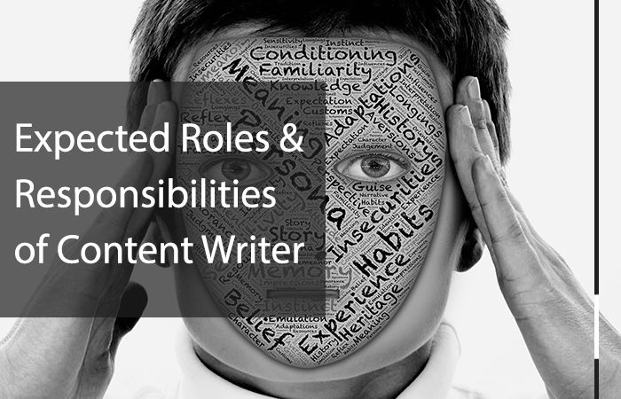 Roles and Responsibilities you should expect as a Content Writer